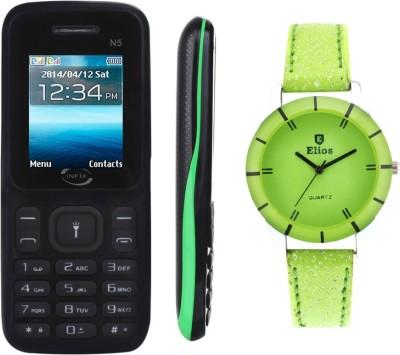 Infix N5 (Black, Green)