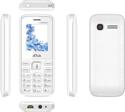 Aqua Phoenix - Dual SIM Basic Mobile Phone (Black)