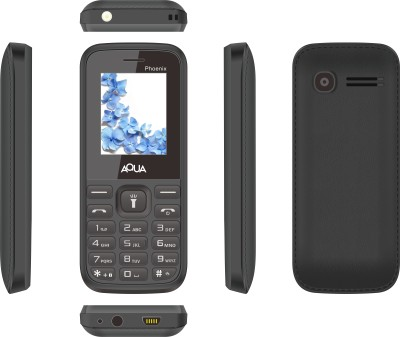 Aqua Phoenix - Dual SIM Basic Mobile Phone (White, Grey)