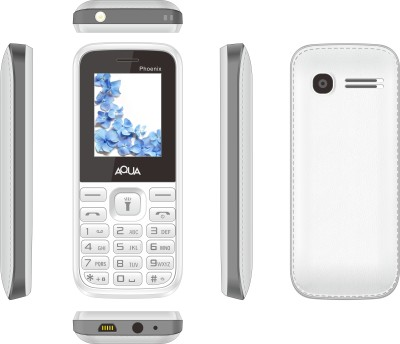 Aqua Phoenix - Dual SIM Basic Mobile Phone (Blue)