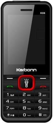 Karbonn K88 Dual Sim - Black & Red (Black)