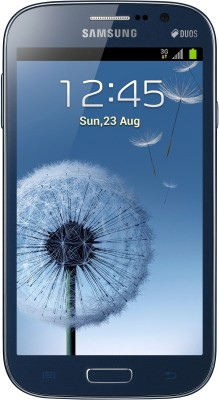 Samsung Galaxy Grand Duos I9082 Metallic Blue, with 2 Flip Covers Color: White and Blue available at Flipkart for Rs.17050