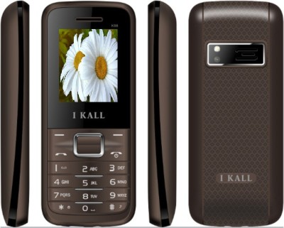 I KALL K-88 Dual sim multimedia phone with bluetooth-brown (Brown)