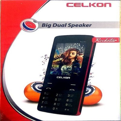 Celkon Rockstar Big dual Speaker Black (Black)