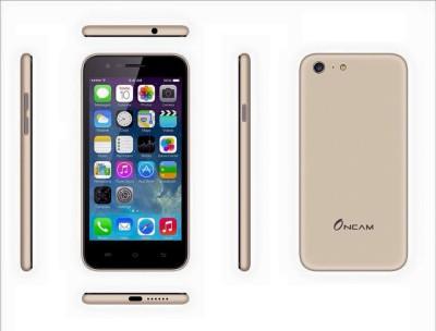 Oncam Q6 1.3 Ghz Quad Core 5 MP Camera 1GB Ram 8GB Rom Dual Sim Smartphone (Silver, Gold, 1 GB)