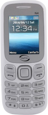 Infix N-4 Dual Sim Multimedia with Facebook (White)