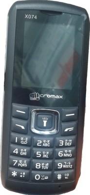 Micromax X074 (Black)