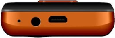 Celkon C180 Jumbo (Black & Orange)