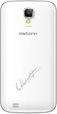 Karbonn Kochadaiiyaan The Legend A36 (White and Silver, 4 GB)