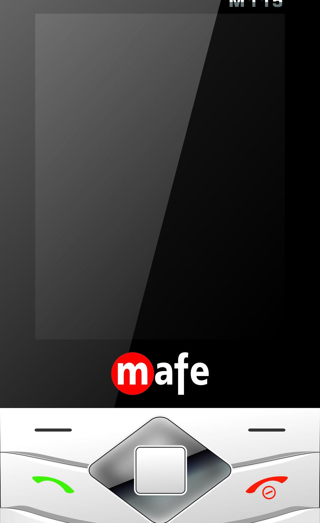 Mafe M115 White