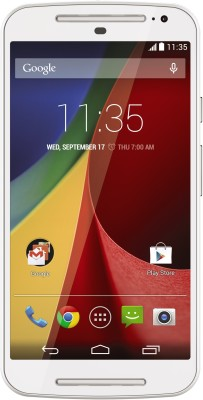 Moto G (2nd Gen)(White, with 16 GB)-mobile phones