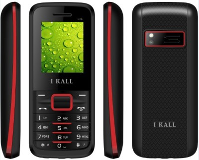 I Kall K-88 DUAL SIM FEATURE PHONE-RED (Red)
