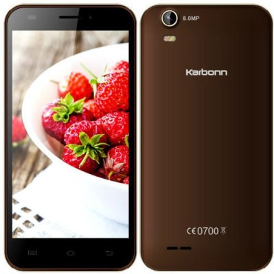 Karbonn Titanium S200Hd (Coffee+Chmpagne, 8 GB)