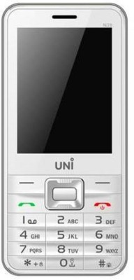 UNI 2.8 Inch Dual Sim Mobile (White)