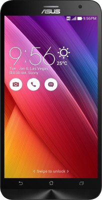 Asus Zenfone 2 ZE551ML (Black, With 4 GB RAM, With 2.3 GHz Processor, With 64 GB)