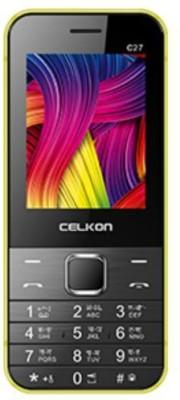 Celkon C27 (Yellow)