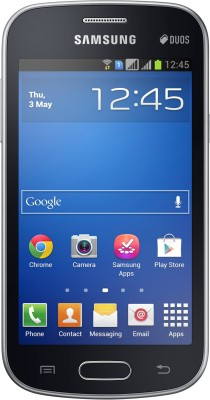 Samsung Galaxy Trend S7392 Midnight Black available at Flipkart for Rs.6533