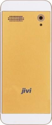 Jivi JFP3432 Full Multimedia Phone (White+Gold)