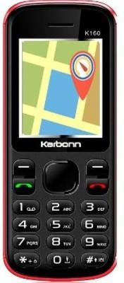 Karbonn K160 (Black/Red)