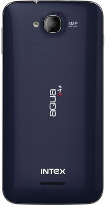 Intex Aqua i4Plus (Pearl Blue, 4 GB)
