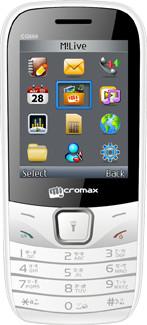 Micromax GC666 Black & Grey