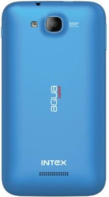 Intex Aqua Curve (Blue, 4 GB)