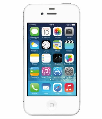 Apple iphone 4s (white, 16 GB)