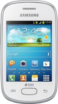 Samsung Galaxy Star S5282 Ceramic White available at Flipkart for Rs.4490