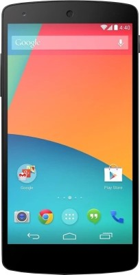 Google Nexus 5 ( Black , 16GB ) at Rs 1384 Only - EMI Offer at Flipkart