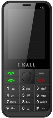 i KALL Dual Sim 2.4 Inch Bar phone with bluetooth black