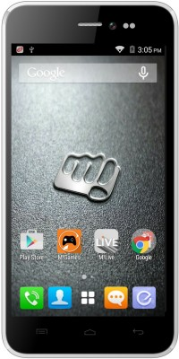 Micromax Canvas Pep Q371 8 GB (White)