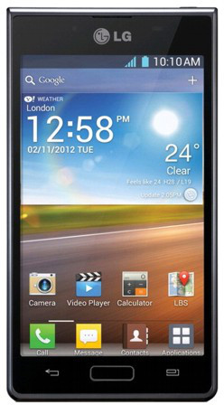 LG Optimus L7 P705 Black