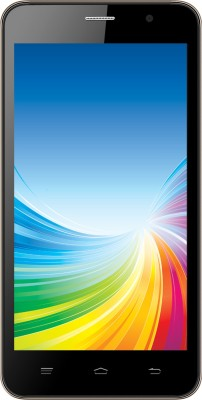 Intex Cloud 4G Smart (Black & Champagne, 8 GB)