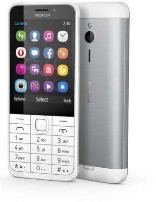 Nokia 230 (Silver White)