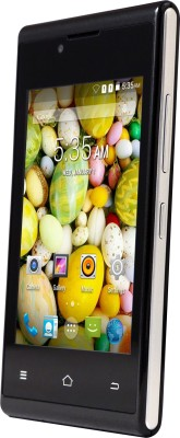 Nuvo Alpha NS35 4GB (Black, 4 GB)