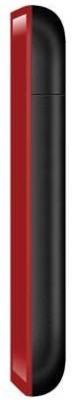 Karbonn K130+ Dual Sim With Torch (Black+Red) (Black & Red)
