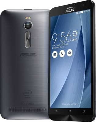 Asus Zenfone 2 ZE551ML (Silver, With 4 GB RAM, With 2.3 GHz Processor, With 128 GB)