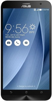 Asus Zenfone 2 ZE551ML (Silver, With 4 GB RAM, With 2.3 GHz Processor, With 64 GB)