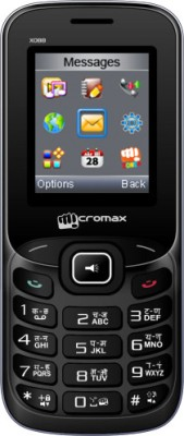 Micromax X088 (Black and Silver)