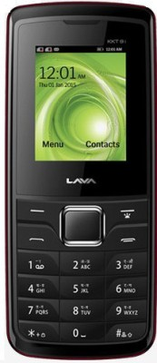 Lava KKT9i (Black, Red)