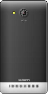 Karbonn A6 (Black White, 104 MB)