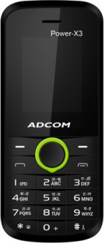 Adcom X3 Dual Sim Mobile