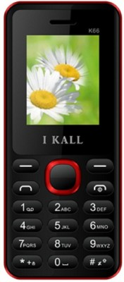 i KALL 1.8 inch Dual Sim Mobile With bluetooth(K-66)-Red (Red, Black)