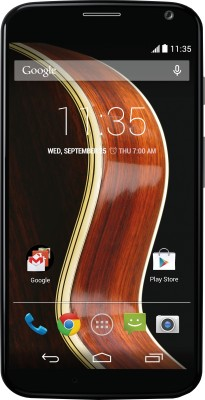 Moto X (Black/Walnut, 16 GB) Rs.12999 From Flipkart