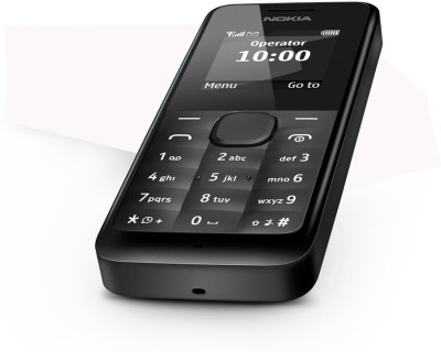 Nokia 105 Ds (BLACK)