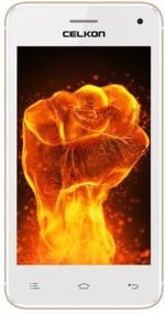 Celkon Q3K Power White+Gold