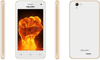 Celkon Millennia Q3K Power White+Gold (White+Gold, 8 GB)