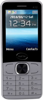 Infix A-12 Dual Sim Multimedia 2.4 Inches (Grey)