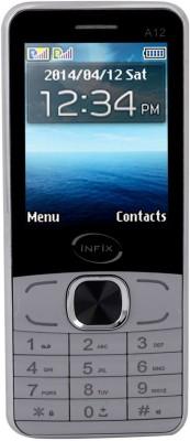 Infix A-12 Dual Sim Multimedia 2.4 Inches (Grey)