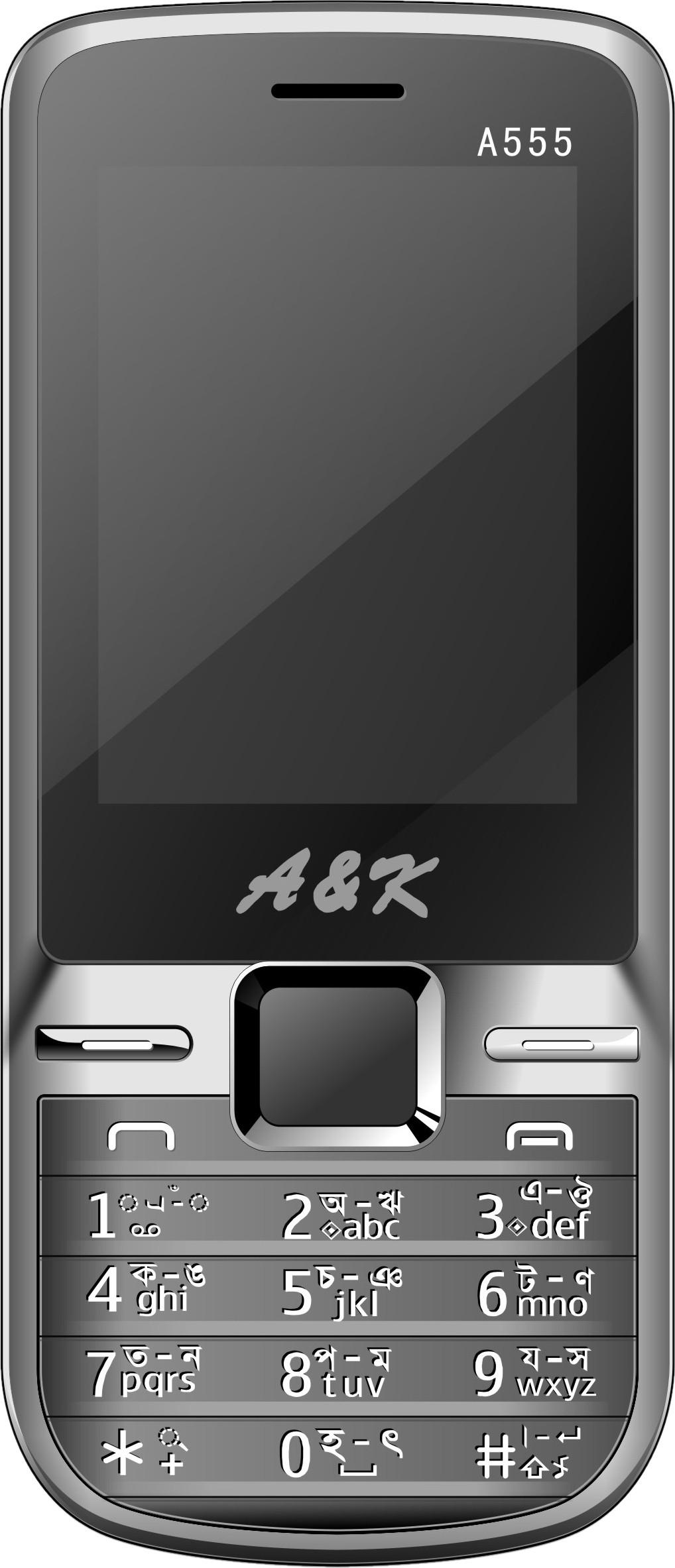 A & K A 555 Grey